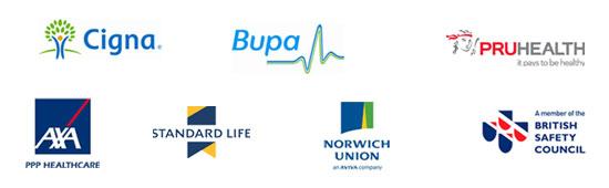 Osteopathy Insurance logos